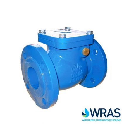 Ductile Iron Swing Check Valve Flanged PN16