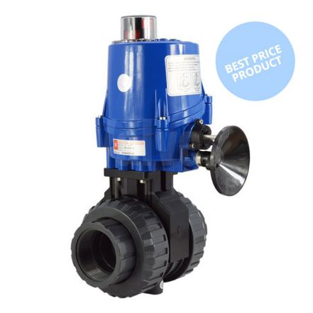 Electric Actuated Economy PVC Ball Valve