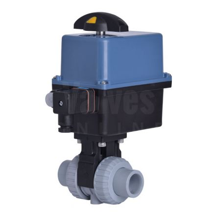 Electric Actuated CEPEX Extreme ABS Ball Valve