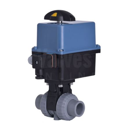 Electric Actuated CEPEX Extreme PVC-C Ball Valve