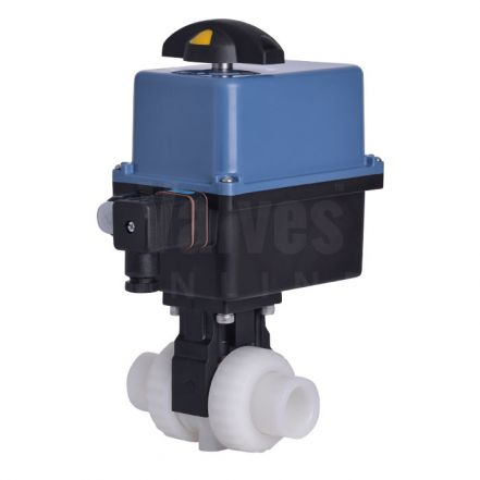 Electric Actuated CEPEX Extreme PVDF Ball Valve