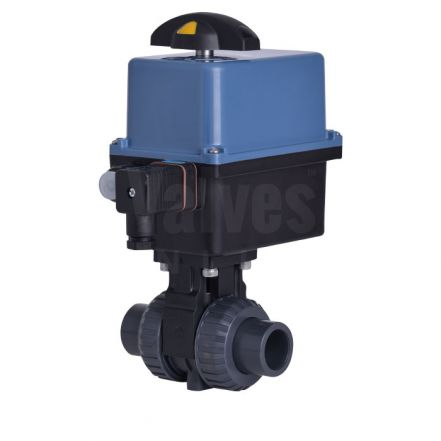 Electric Actuated CEPEX Extreme PVC-U Ball Valve