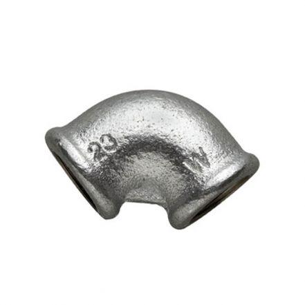 Galvanised Malleable Iron Female / Female 90° Elbow
