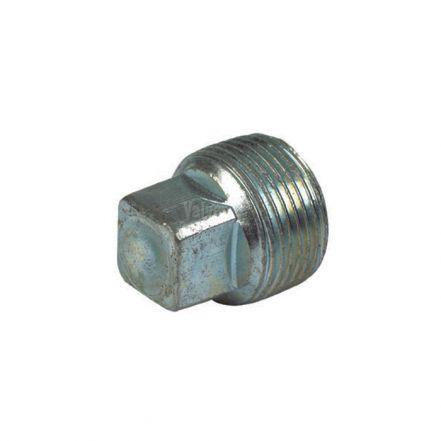 Galvanised Malleable Iron Male Plain Blanking Plug