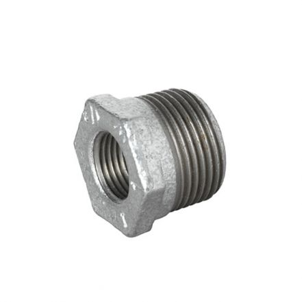 Galvanised Malleable Iron Male / Female Hex Reducing Bush