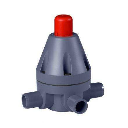 GEMU N185 PVC-U Pressure Relief Valve (DN10-DN50)