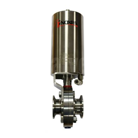 Inoxpa 4800 Hygienic Butterfly Valve with Pneumatic Actuator