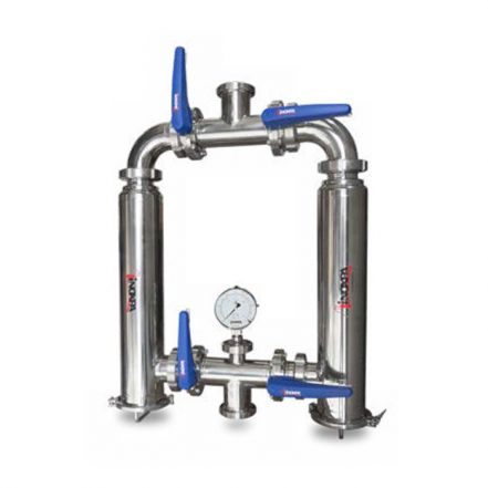 Inoxpa Hygienic Duplex Filter Assembly