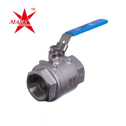 Mars Heavy Duty Series 20-40 2 Piece Stainless Steel Ball Valve