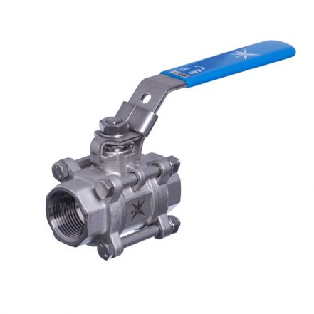 Mars Series 50 High Temperature 3 Piece Ball valve