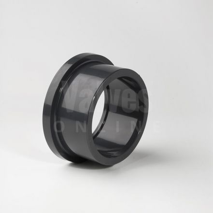 PVC Imperial Inch Solvent Stub Flange Serrated Face