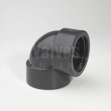 PVC 90° Threaded Elbow