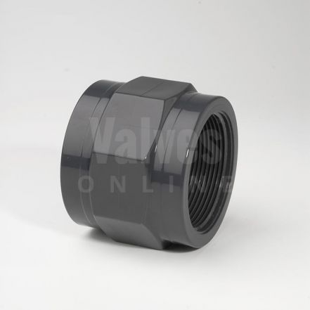 PVC Metric x Threaded Socket