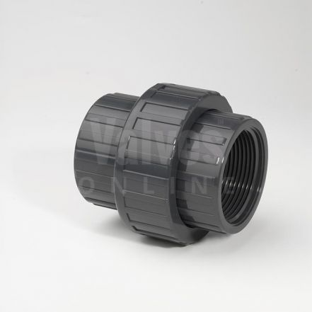 PVC Metric x Threaded Adaptor Union