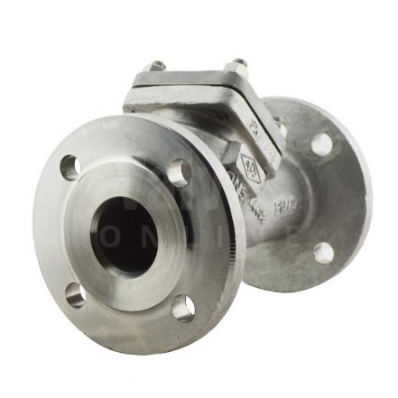 PN40 Stainless Steel ARI CHECKO-V Y Pattern Non-return Check Valve