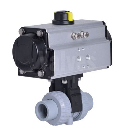 Extreme Pneumatic Actuated Ball Valve ABS Body