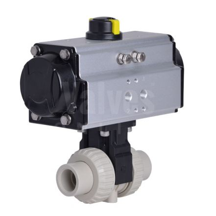CEPEX Extreme Pneumatic Actuated Ball Valve, PP-H Body