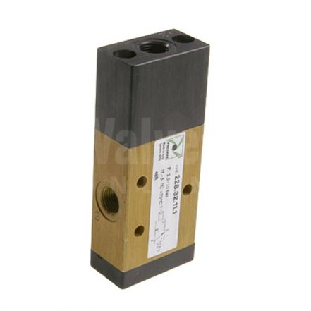 Series 228 Mechanical Pneumatic Valve 3/2 & 5/2 - 1/8""
