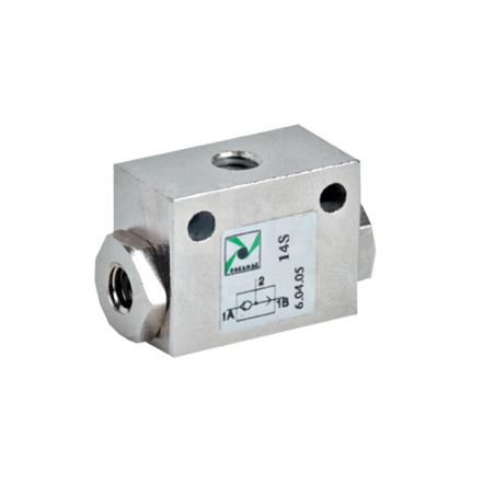 Pneumax Series 600 Shuttle Valve 1/8'' Valves