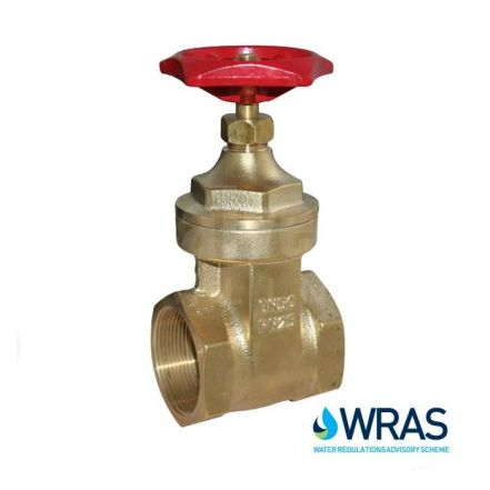 Screwed Heavy Duty Brass Gate Valve