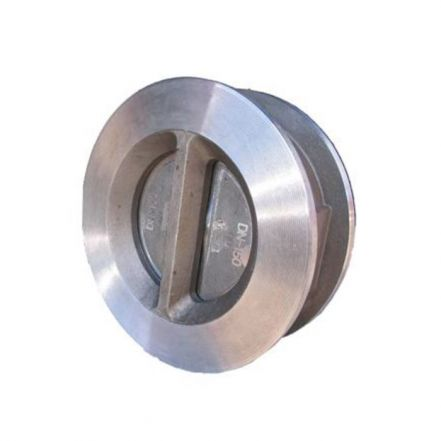 Stainless Steel Dual Plate Check Valve Wafer Pattern