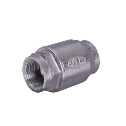 Stainless Steel Spring Check Valve High Pressure Screwed BSP