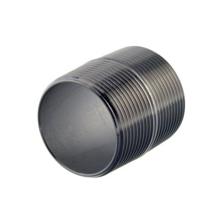 Stainless Steel Male Close Taper Nipple