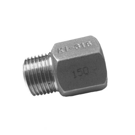 Stainless Steel Male / Female Hex Adapter