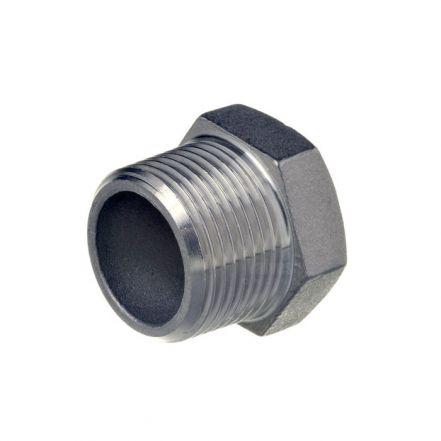 Stainless Steel Male Hex Plug