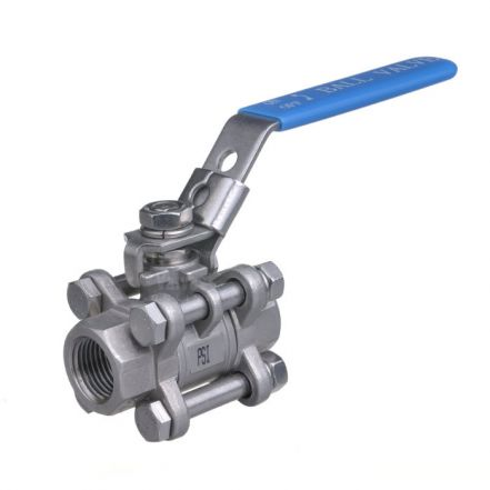 3 Piece Manual Economic Stainless Steel Ball Valve