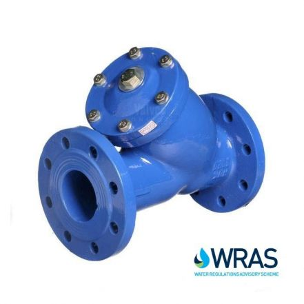 WRAS Approved Cast Iron Y Type Strainer Flanged PN16