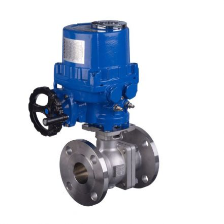 Series 90D Electric Actuated ANSI 300# Ball Valve