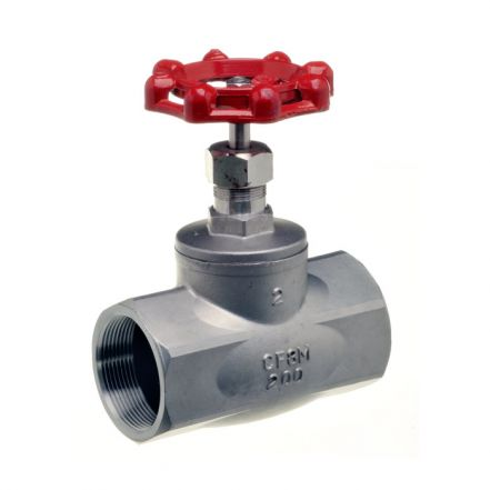 Stainless Steel Globe Valve Screwed BSPP