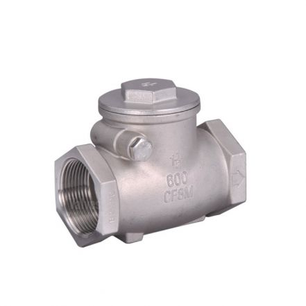 Stainless Steel Swing Check Valve Screwed BSP