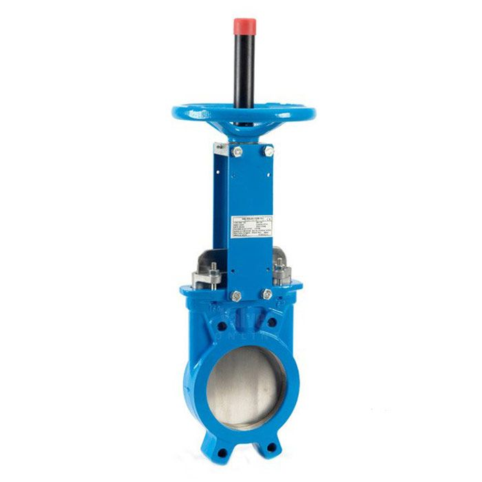 Pneumatic add manual type knife gate valve haitima valve.