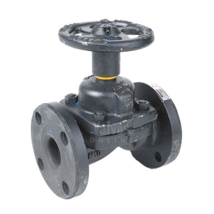 Weir type diaphragm valve unlined flanged pn16 valves online weir type diaphragm valve unlined flanged pn16 ccuart Choice Image