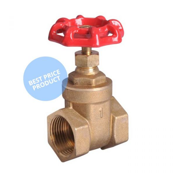 Screwed Brass Gate Valve