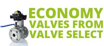 Economy Valves from Valve select