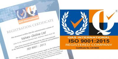 ISO 9001:2015 - CERTIFIED MANAGEMENT SYSTEM