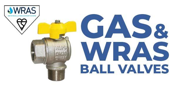Gas and WRAS Approved Ball Valves
