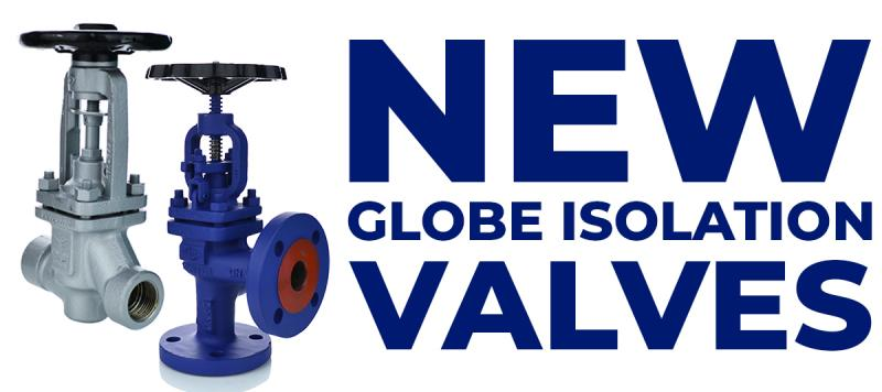 New ARI Globe Valves for Steam Applications