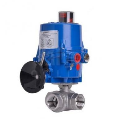 VO - 3 Way Electric Actuated Ball Valves