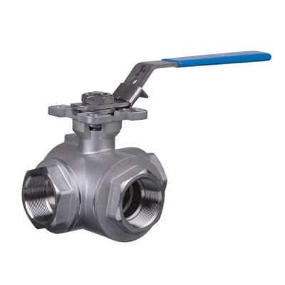 3 Way Stainless Steel Ball Valves