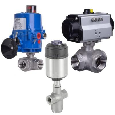 Actuated 3 Way Valves