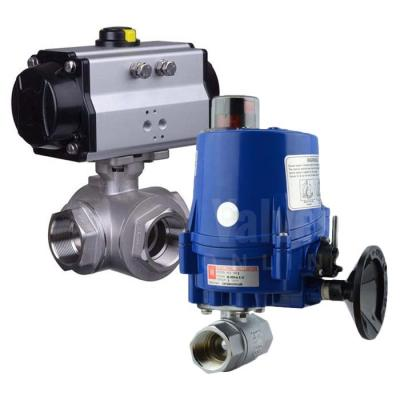 Actuated Brass Ball Valves