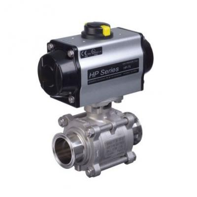 Actuated Sanitary Ball Valves