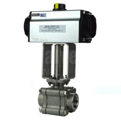 Actuated Steam Ball Valves