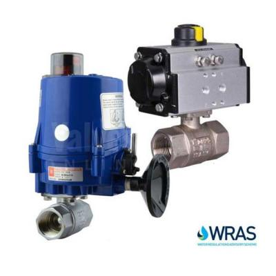 Actuated WRAS Approved Ball Valves