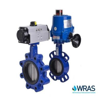 Actuated WRAS Approved Butterfly Valves
