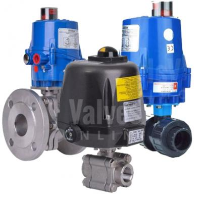 VO - All Electric Actuated Ball Valves